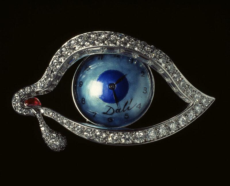 Salvador Dali times eye