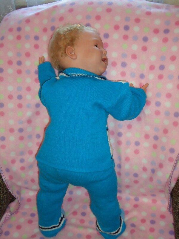 Кристина примеряет наряды. Кукла реборн Кристалетта