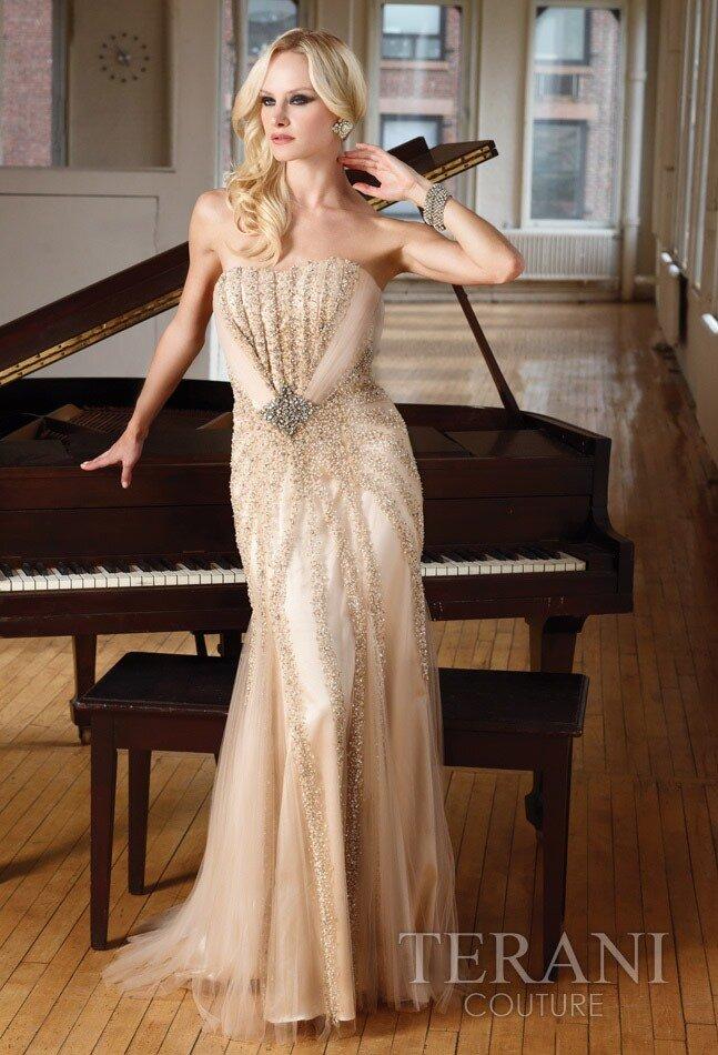 Модели вечерних, выпускных и коктейльных платьев Tarani. коллекция 2012г