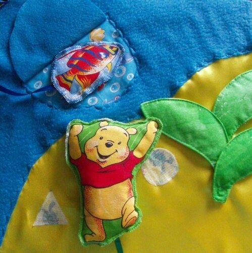 Развивающие игрушки-книжки... страничка Остров!