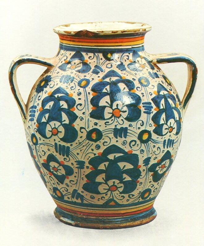 Ваза с орнаментом palmetta persiana