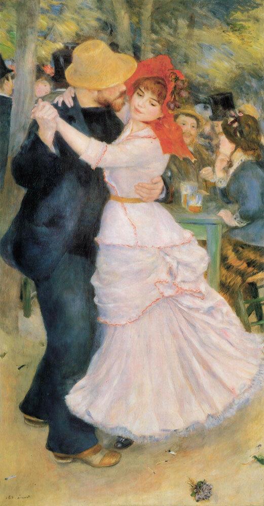 Танцы в Буживале 1883г 98х181см
