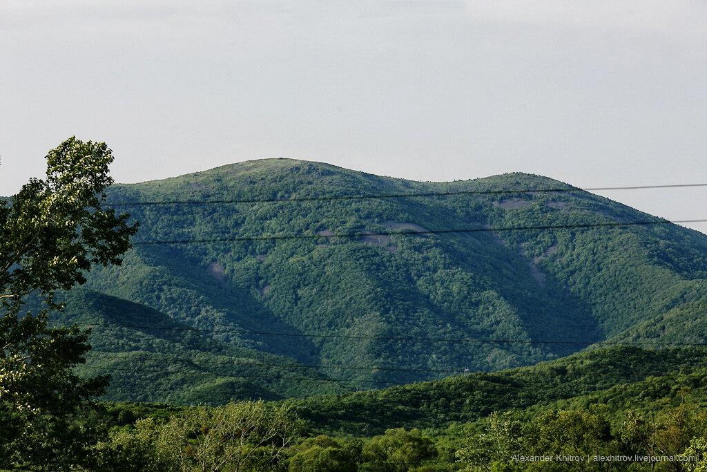 Горы в приморском крае на фото