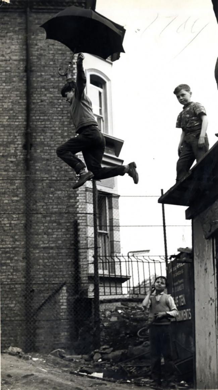 Испытание зонтика, 1963г.