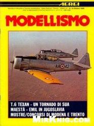 Журнал Aerei Modellismo 1986-10