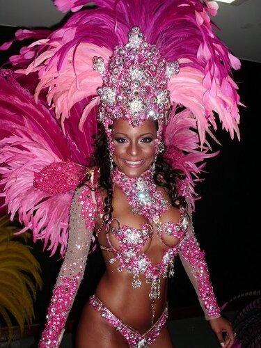Бразильский карнавальный костюм, самба!