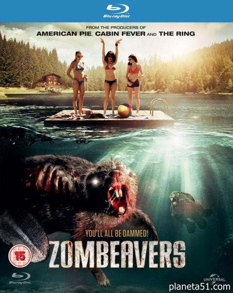 Бобры-зомби / Zombeavers (2014/BDRip/HDRip)