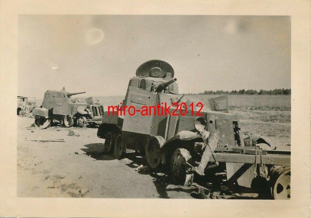 Разбитая колонна Красной Армии 1941.JPG