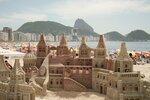 Волшебный замок на песке