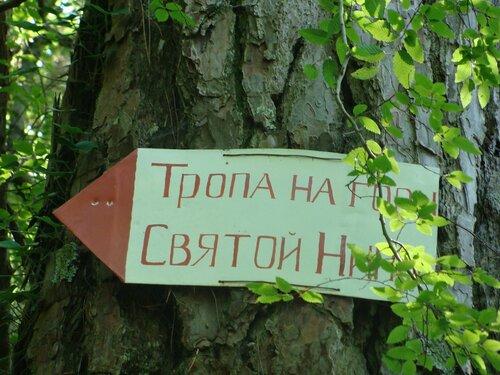 На горе св. Нины