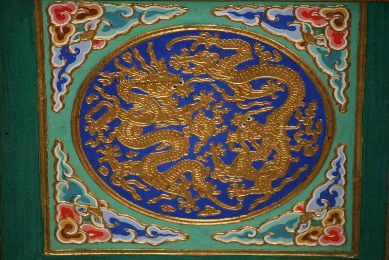 Потолок Зала Императорского Неба