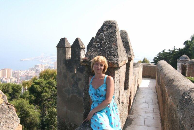 Я в Хибралфаро, Малага