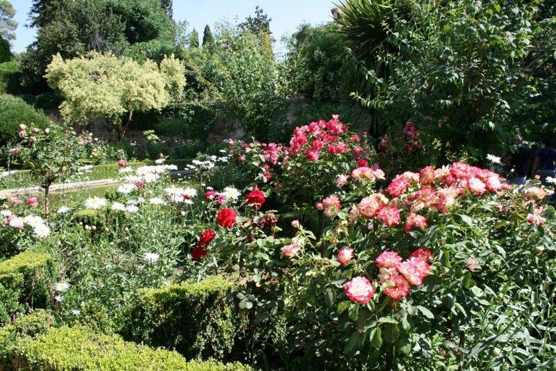 Сады Парталь, Альгамбра