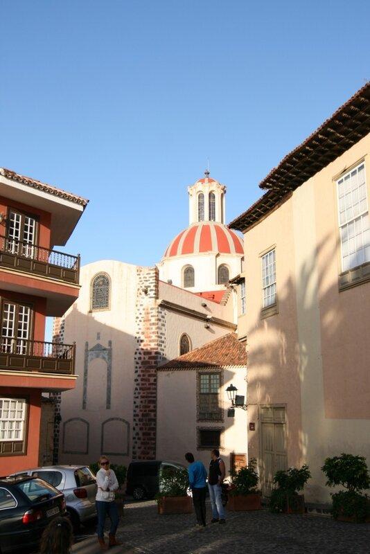 Ла Оротава, Церковь Непорочного зачатия де ла Консепсьон
