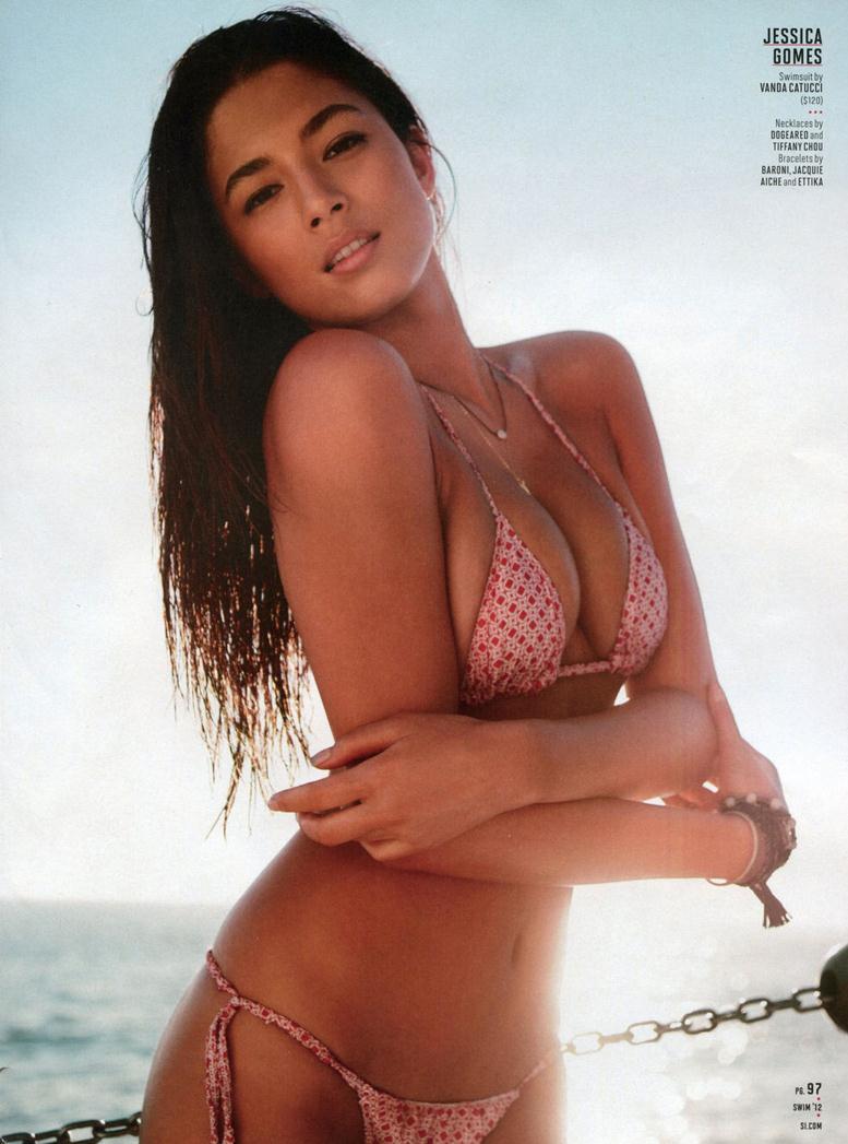 Каталог купальников SI Swimsuit 2012 - Jessica Gomes / Джессика Гомес