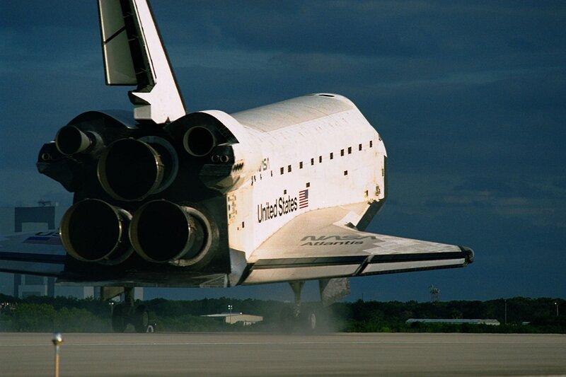 Шаттл «Атлантис» завершил свой последний полет