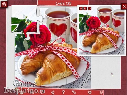 Праздничный пазл: День святого Валентина 2
