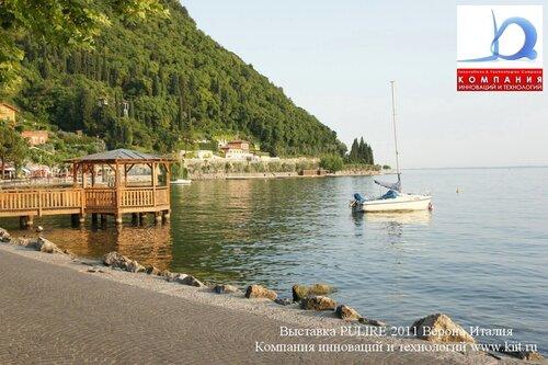Гарда на озере Гарда Италия
