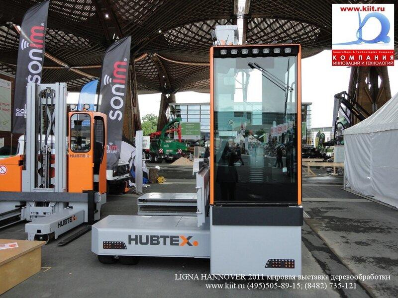 Многоходовой электрический погрузчик HUBTEX 2150