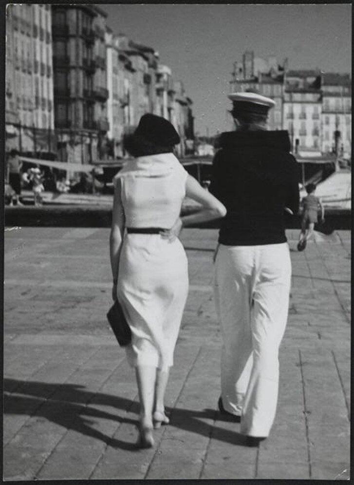 1935. Пара в Тулоне