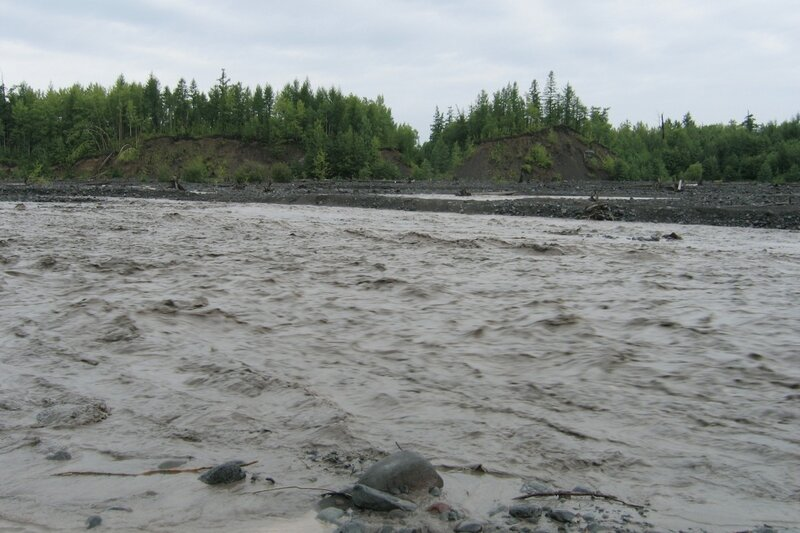 Бурная река, Толбачик, Камчатка