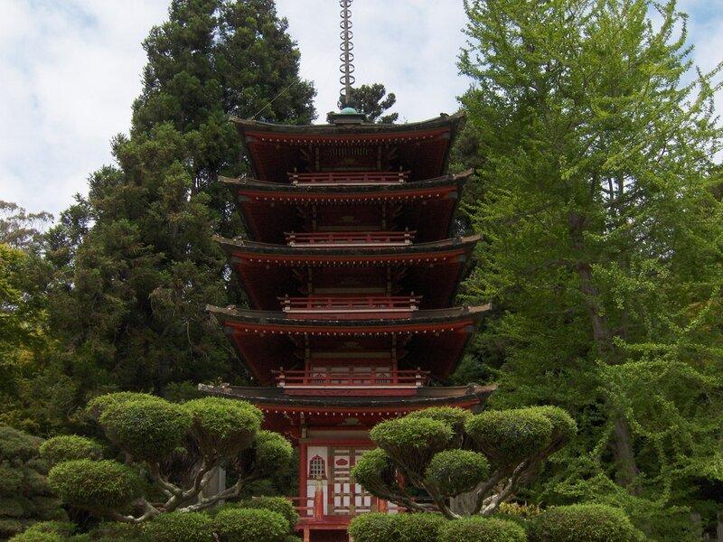 Японский чайный сад в сан франциско