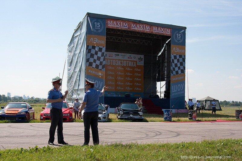 Автоэкзотика 2011, аэродром Тушнино, гоночная трасса Тушино-Ринг