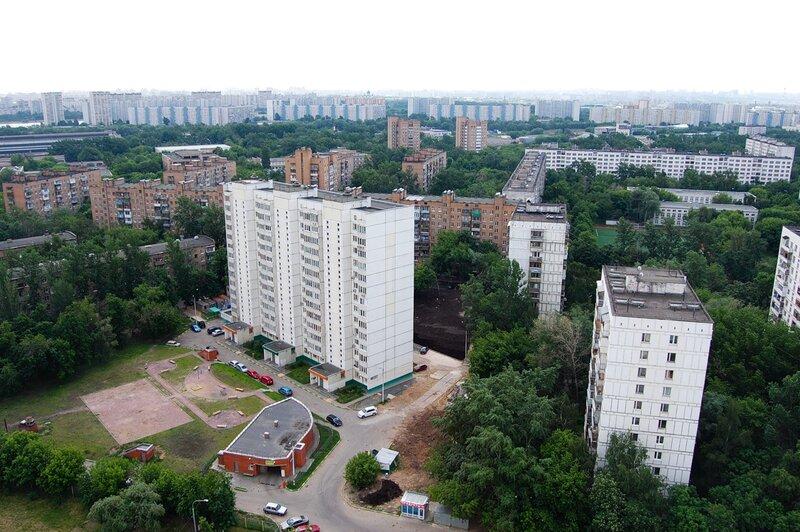 Москоские крыша - Нагатинская набарежная