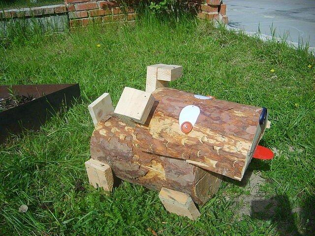 Поделки из дерева для сада и огорода своими руками с фото