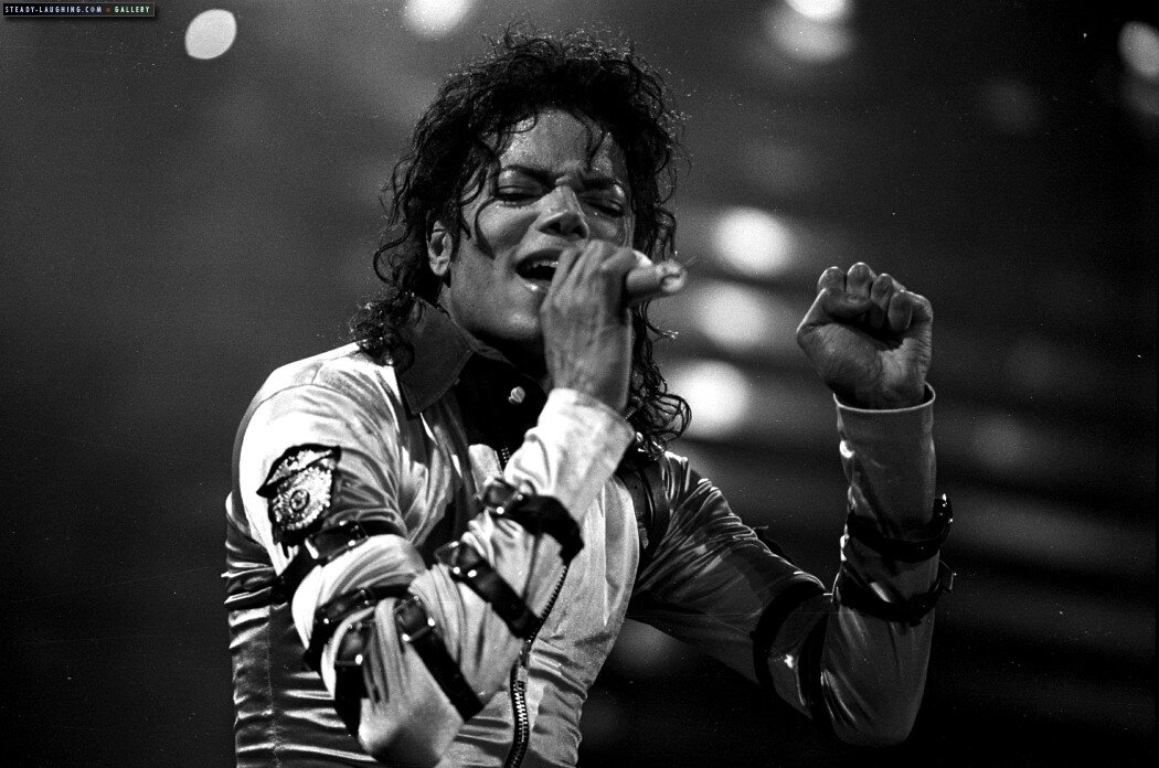 the person i admire is michael jackson