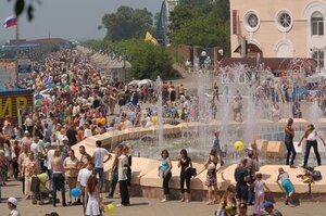 Праздничные мероприятия, посвященные 151-й годовщине Владивостока