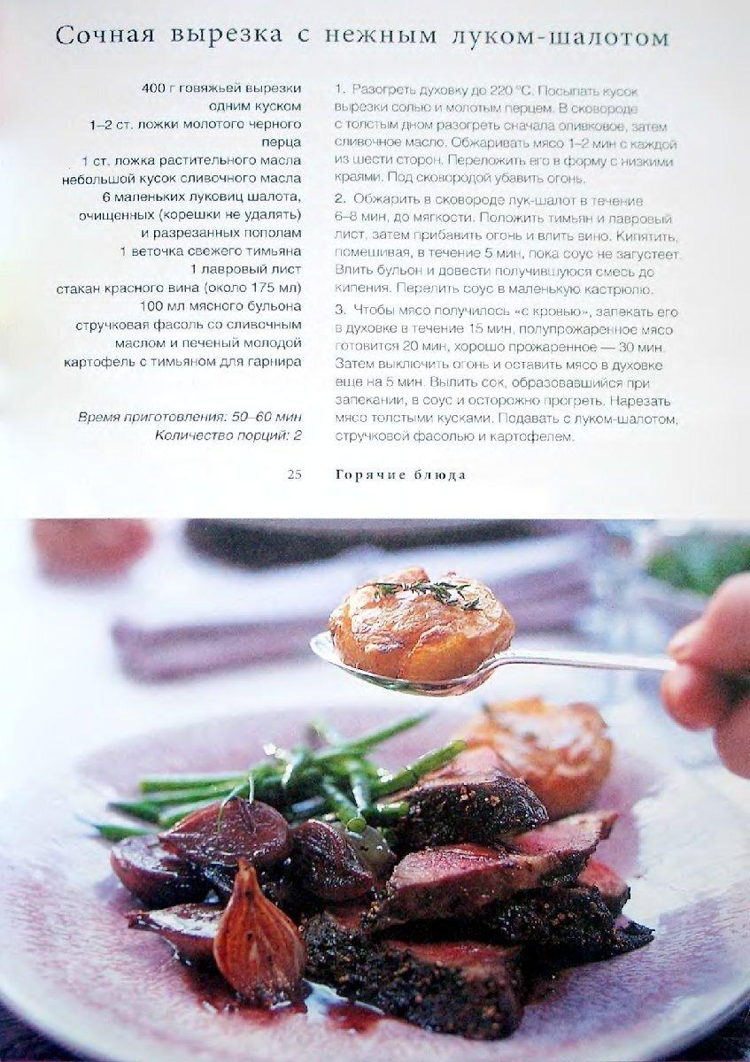 Рецепты изысканные блюда