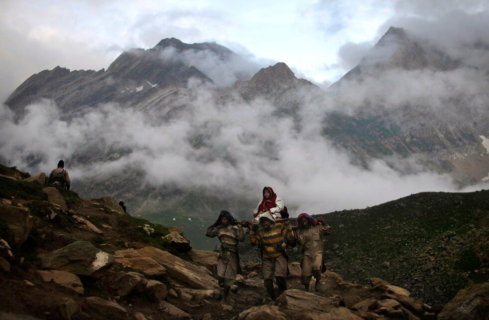 APTOPIX India Kashmir Hindu Pilgrimage