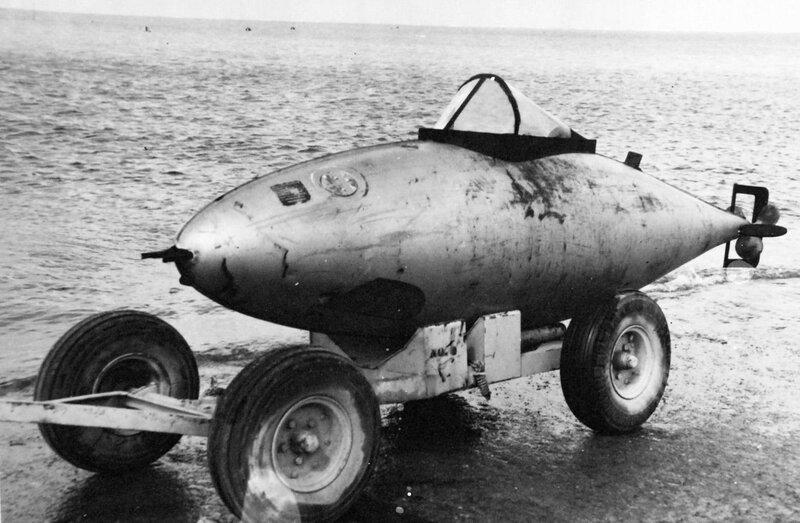 Управляемая торпеда для японского камикадзе. Использовалась во время Второй мировой войны.Jpg