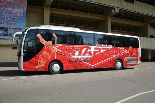 Автобус ХК Спартак