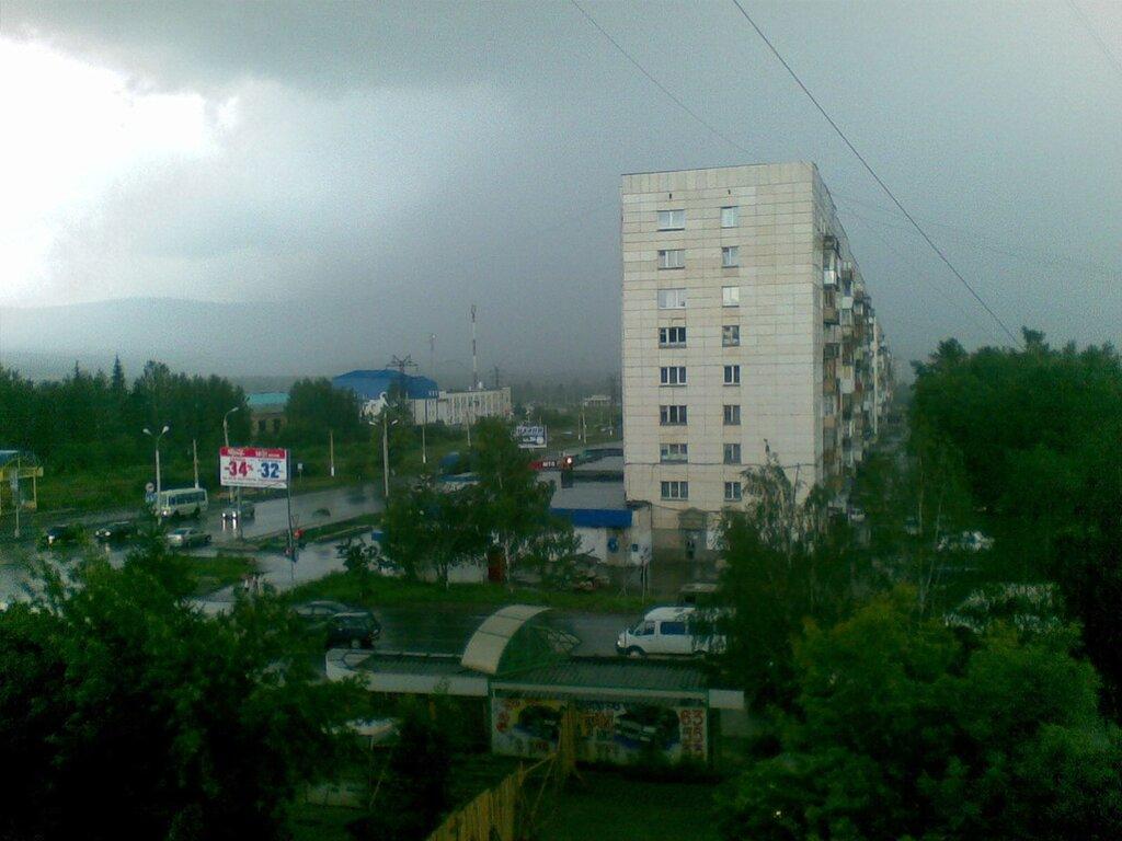 Город Златоуст. Гроза