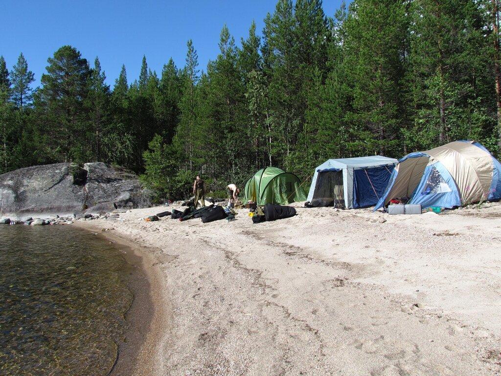 Карелия отдых с палатками рыбалка