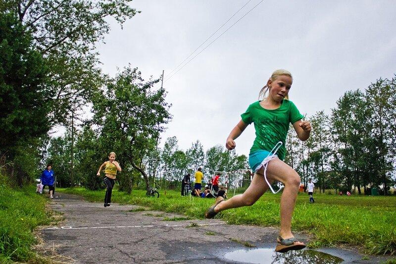 День физкультурника в Новой Ладоге 13 августа 2011 года