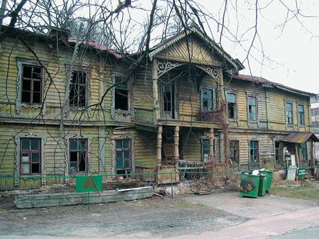 Бывшая резиденция Кристеров. Фото 2007 г.
