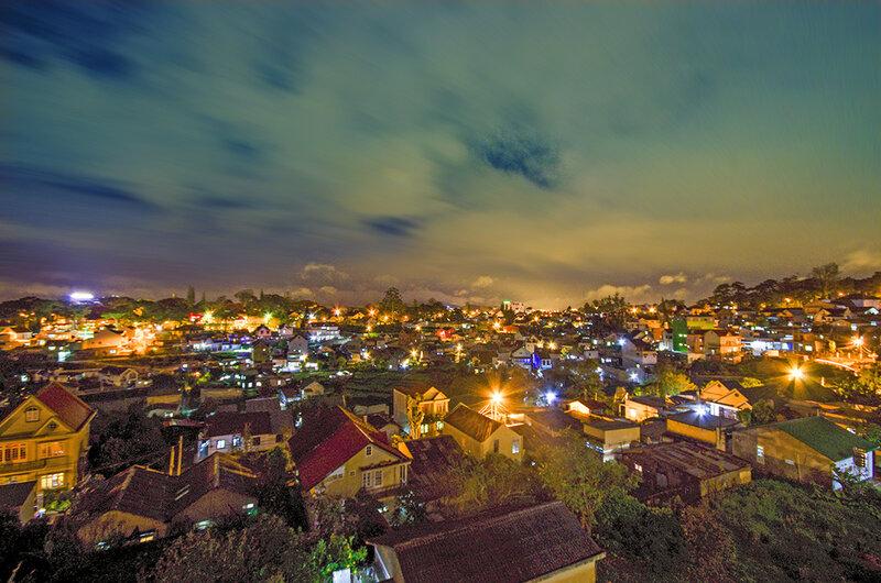 Ночной Далат