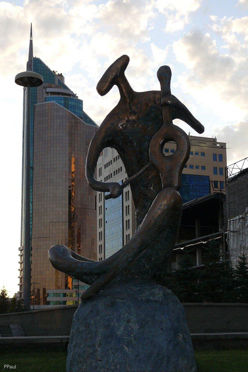 вечерняя Астана
