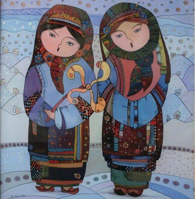 Дух и колорит украинской культуры. Художница Натали Курий-Максымив