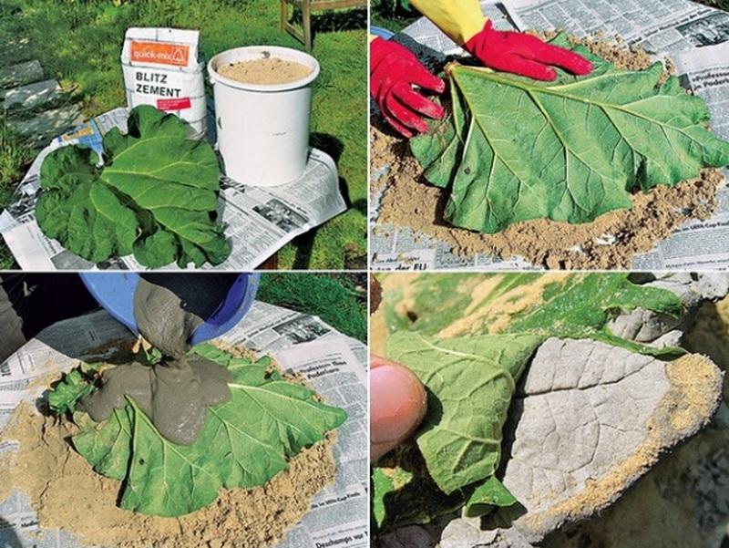 Как сделать лист из бетона