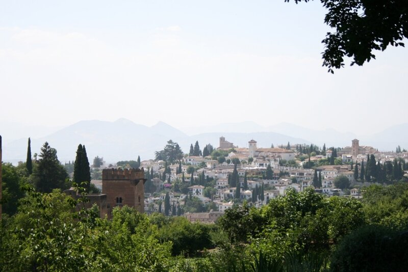 Вид на Гранаду