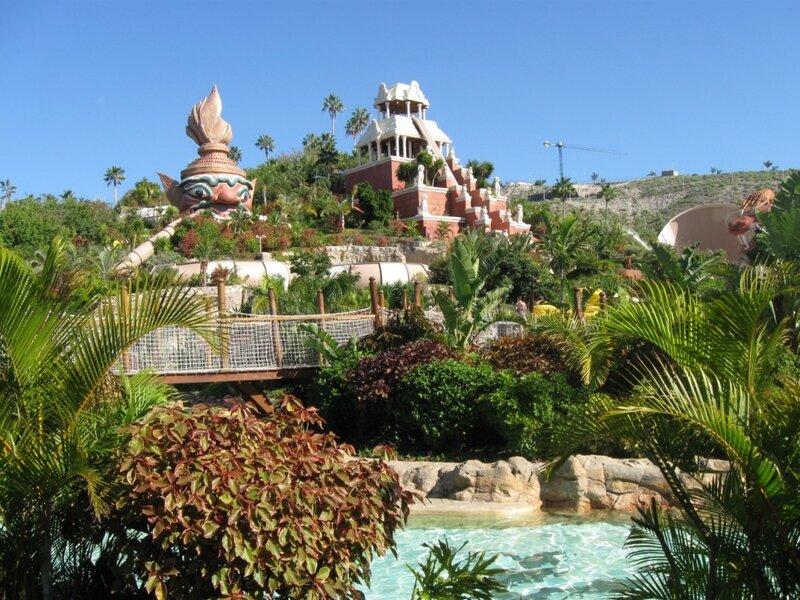 Tenerife, Siam Parque