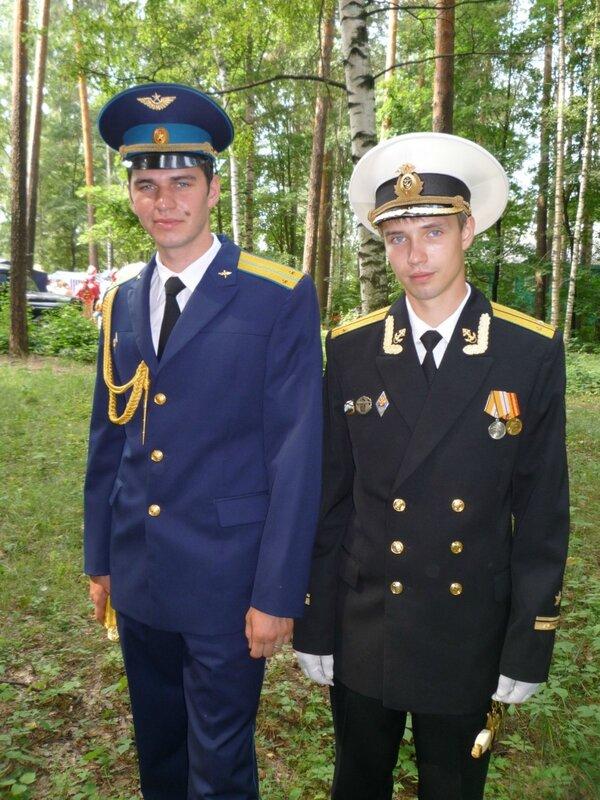 Андрей Соболевский и Сергей Сергеев