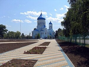 Храм в станице Каневской ... 001. Велопутешествие по Кубани.2009. (40).jpg