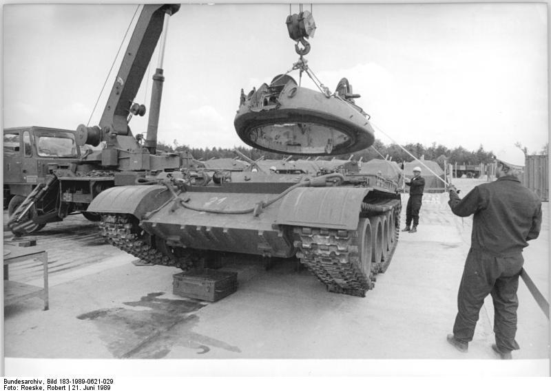 Kreis Gцrlitz, Verschrottung von Panzern T 55A