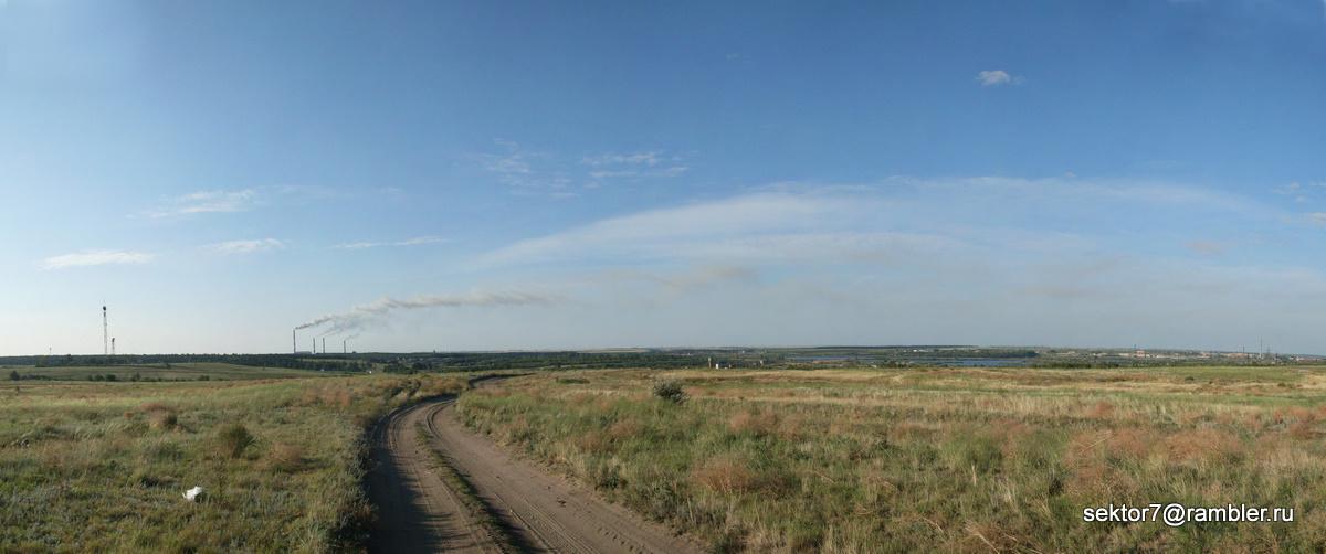 Велопрогулка до ГРЭС'а 15-08-2010 (40 км)