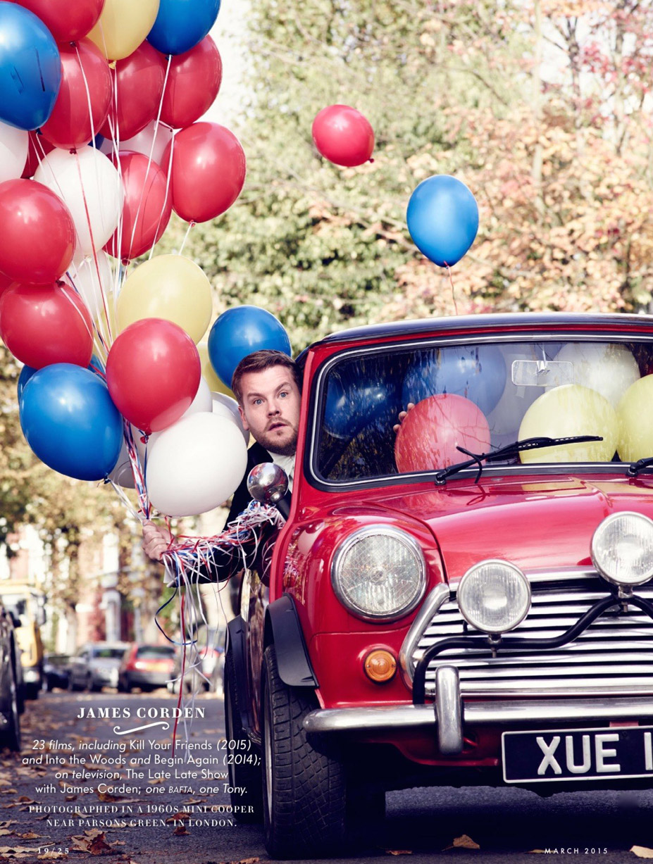 Лучшие британские актеры в проекте The 2015 Hollywood Portfolio by Jason Bell in Vanity Fair march 2015 - Джеймс Корден / James Corden